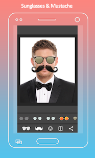 App Mustache Photo Editor version 2015 APK