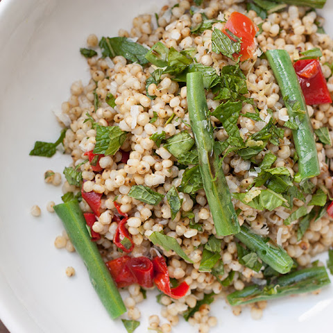 Spring Sorghum Salad + Bob's Red Mill Ancient Grains Giveaway!