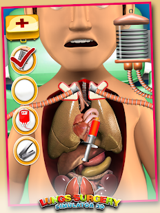 Lungs Surgery Simulator 3D APK for Bluestacks