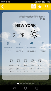 Weatherank screenshot for Android