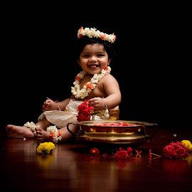 aarohi by Shajin Nambiar - Babies & Children Babies ( baby girl, cutie )