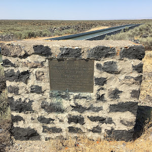 I've spent long enough in California that waterworks, large and small, get my attention. This spot is about 35 miles north of Twin Falls, Idaho, and just a couple of miles north of the town of ...