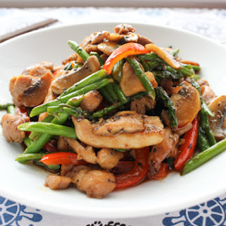 Asparagus Chicken Oyster Sauce Recipes