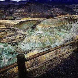 John day fossil beds, oregon by D.j. Nichols - Instagram & Mobile Android ( john day fossil beds )