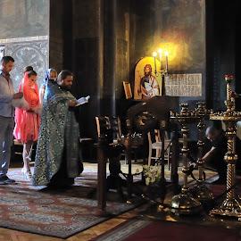 Oath by Tomasz Budziak - Wedding Ceremony ( wedding, orthodox, ceremony, people, bulgaria )