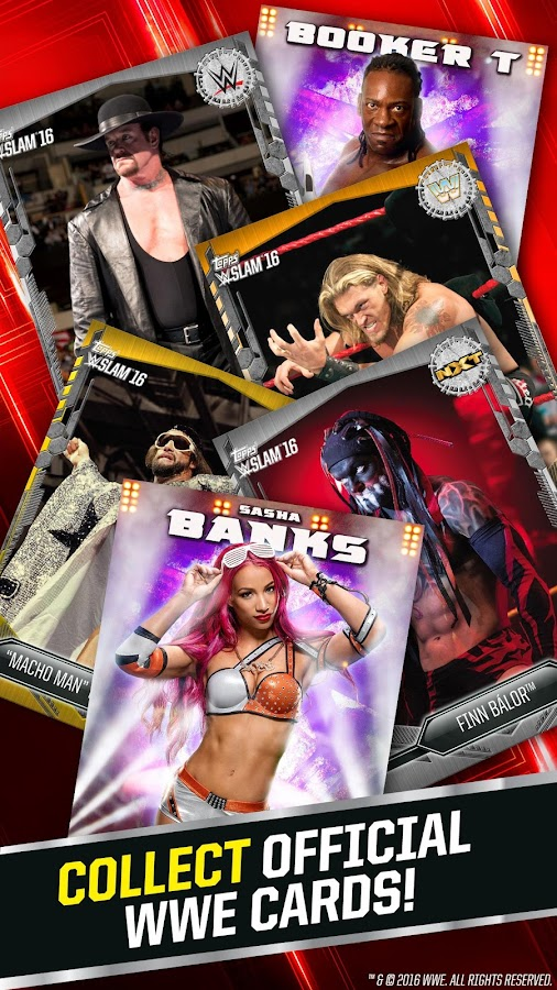 WWE SLAM: Card Trader Screenshot 1