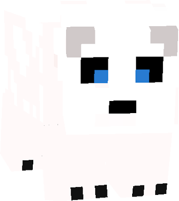Here's a polar bear who may give you a little oink. He's to be your bff