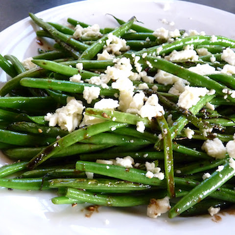 Green Beans With Feta And Balsamic Vinegar