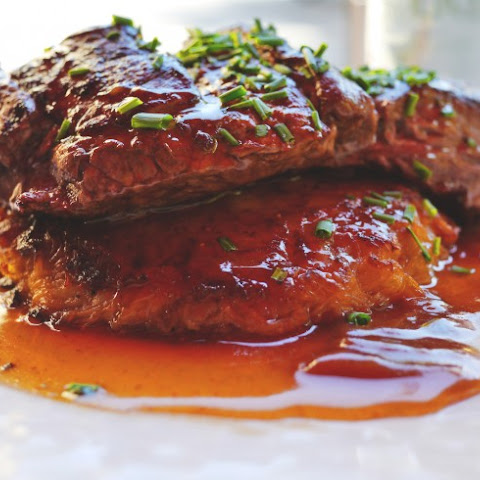 Minute Steak with Gravy