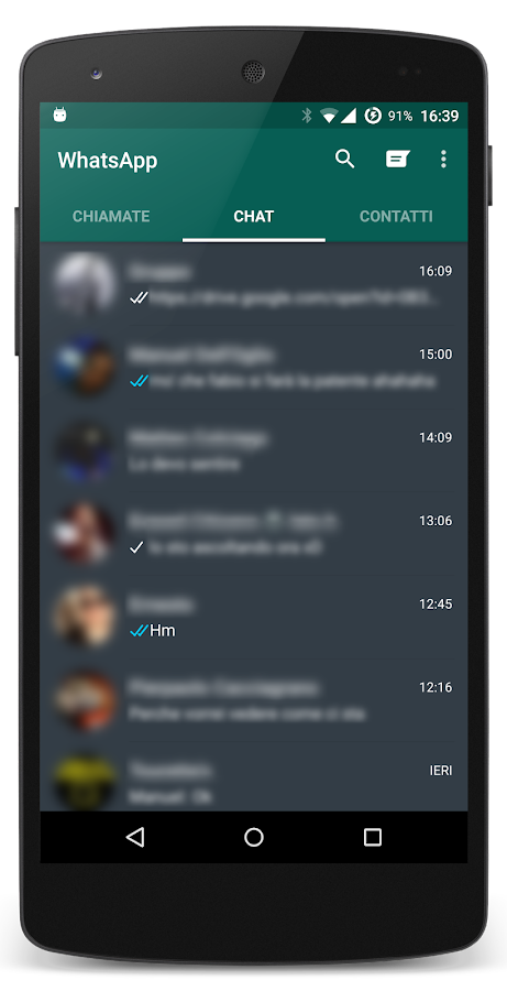 Dark Theme CM13/12.x Stock Screenshot 7