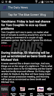 JD's New York Giants News - screenshot