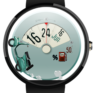 Watch Face: Scooter