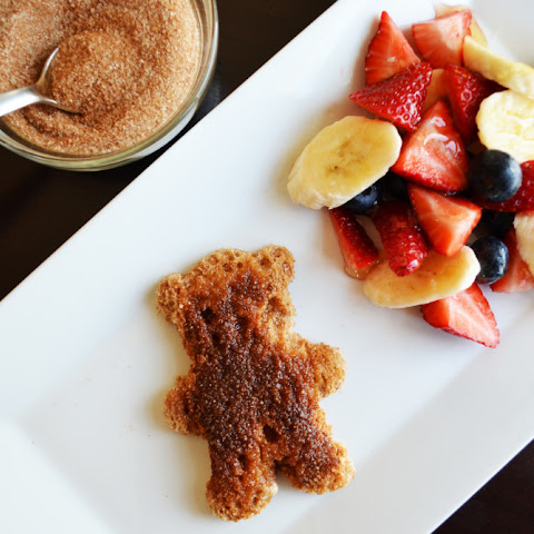 Cinnamon Sugar Bear Toast