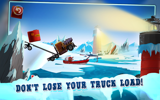 Ice Road Truck Driving Race For PC