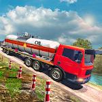 Oil Truck Cargo Transporter 3D Icon