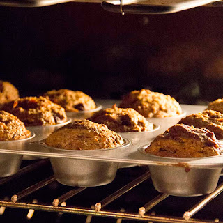 Whole Grain Maple Morning Glory Muffins