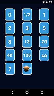 Free Scrum Poker Cards (Agile) APK for Windows 8