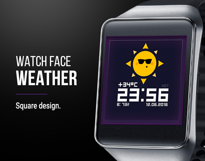 Watch Face: Weather Screenshot 3