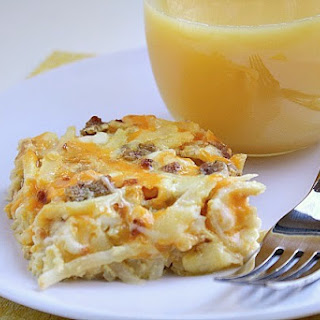3-Cheese Breakfast Casserole