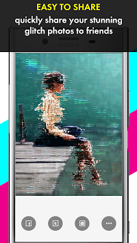 Glitch Photo Maker - Glitch Art & Trippy Effects APK screenshot thumbnail 6