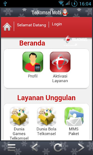 Telkomsel Mobi screenshot 2