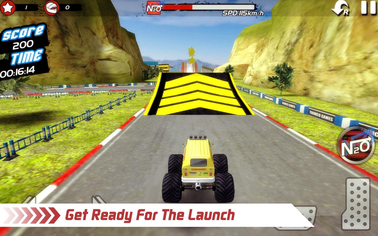 Monster Truck 4x4 Stunt Racer Screenshot 4