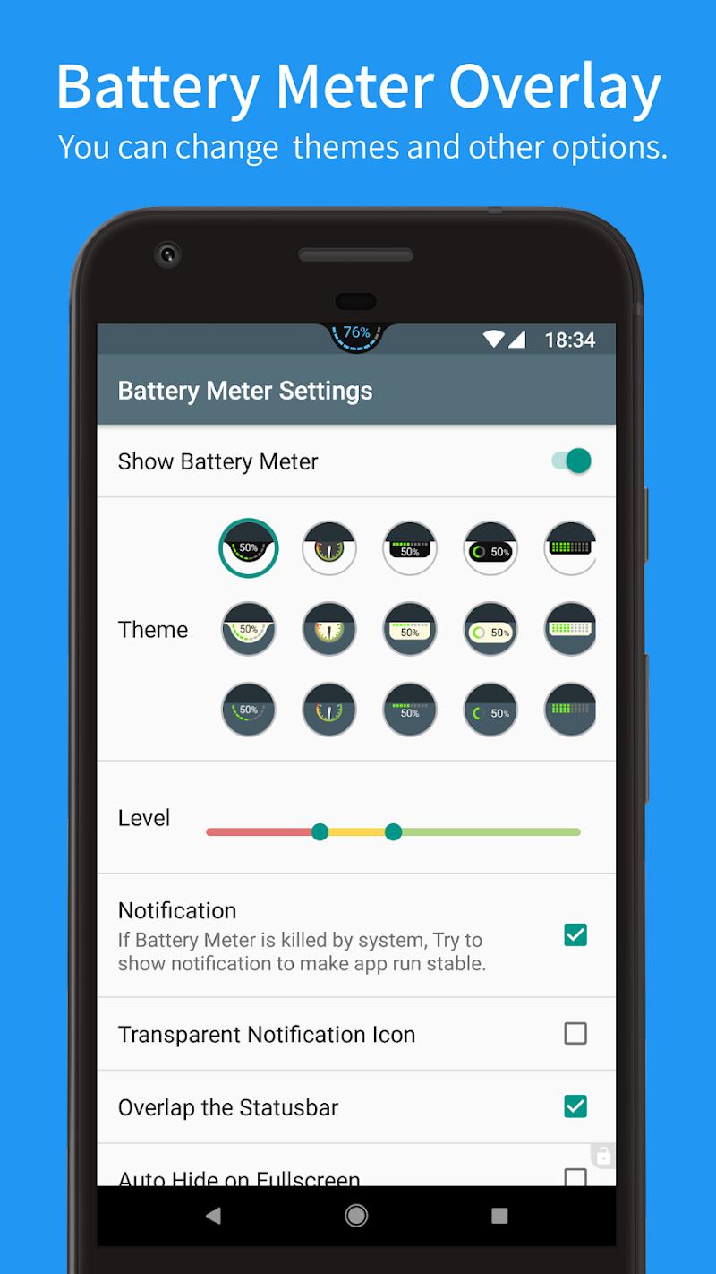 Battery Meter Overlay Screenshot 1
