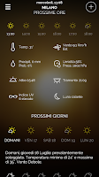 Screenshot of Meteo.it