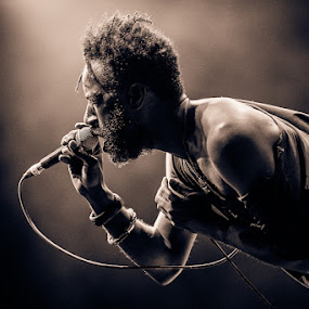 Saul Williams by Stéphane zOz - People Musicians & Entertainers ( music, zoz, rock, musician, singer, saul williams, portrait )