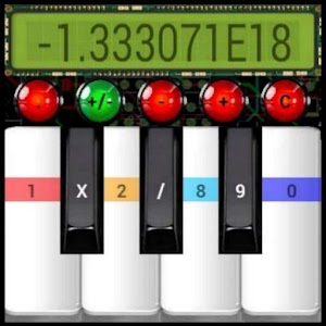 Funny Piano Calculator
