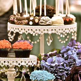 Cupcakes by Janet Young- Abeyta - Food & Drink Candy & Dessert ( desert, cupcakes, cupcake display )