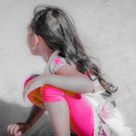 Girl by Ebtesam Elias - Babies & Children Children Candids