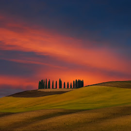Val d'Orcia by Tonino De Rubeis - Landscapes Sunsets & Sunrises