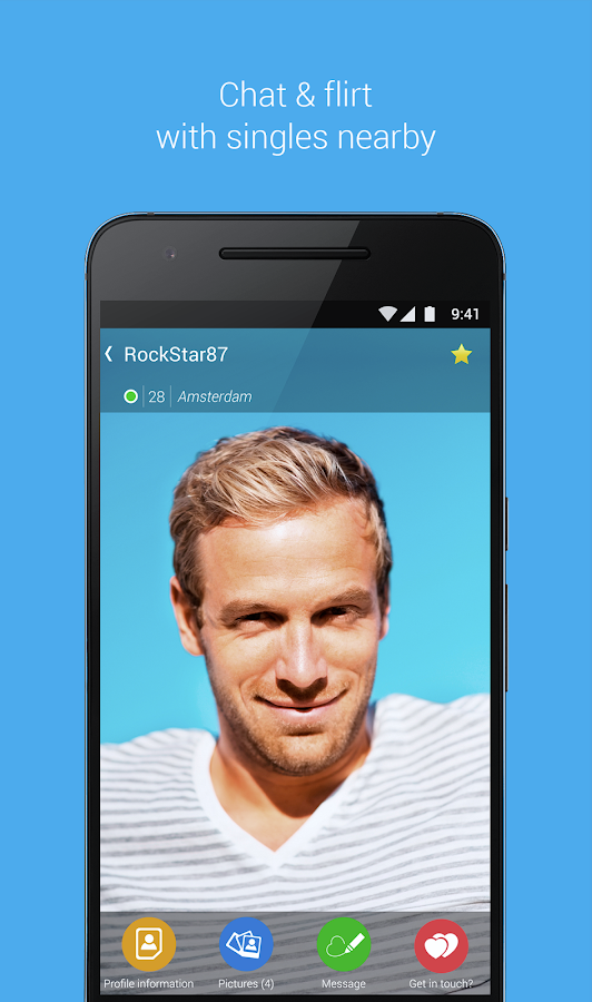 Bildkontakte - Flirt & Dating Screenshot