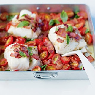 Cod Bacon Tomatoes Recipes