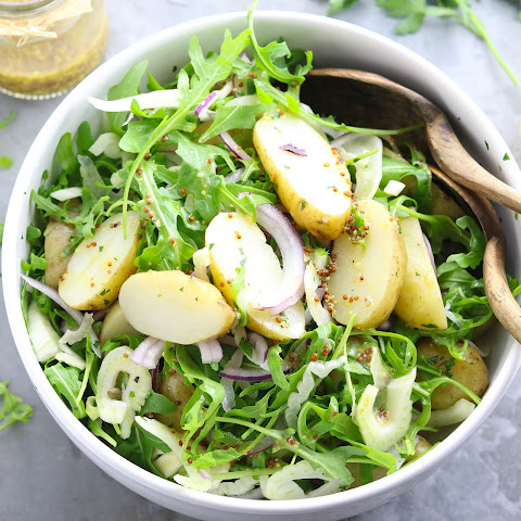 Jersey Royal Potato Salad with Rocket