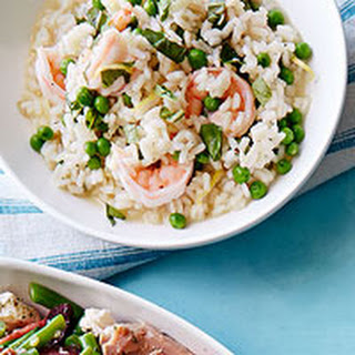 Shrimp and Herb Risotto
