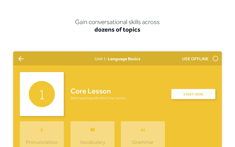 Rosetta Stone: Learn to Speak & Read New Languages Screenshot 16