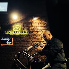 jazz by Sabri Mete - People Musicians & Entertainers