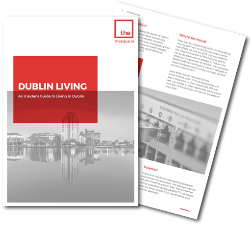 Living in Dublin: Your Free Guide from thesqua.re logo