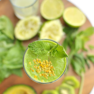 Green Monster Mojito Smoothie