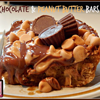 Chocolate & Peanut Butter Bars
