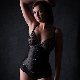 Miss Jacey by Kerri Garrison - People Fashion ( glamour, fashion, boudori, corset, beauty, lengerie )