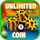 App Unlimited Coin For 8 ball pool prank APK for Kindle