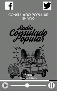 Radio Consulado Popular - screenshot