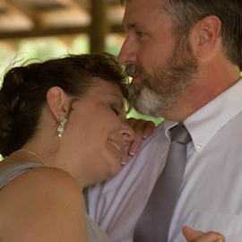 Embracing with Love  by Janice Mcgregor - Wedding Other ( canon, love, woman, wedding, canon sl1, couple, dance, man, outside,  )