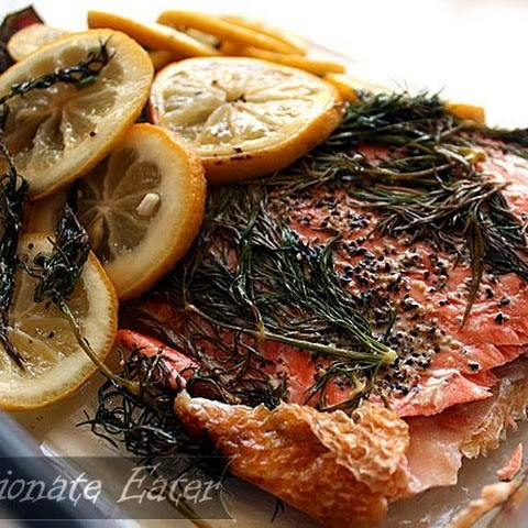 Oven-Baked Salmon with Dill and Lemon