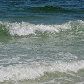 Great Waves by Kayla House - Landscapes Beaches ( water, waves, calming, ocean, beach, relaxing, sun, beaches, great, vacation, florida, sunny, summer )