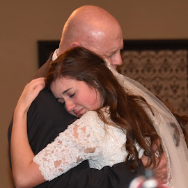 Last dance by Sheri Lim  - People Family ( father daughter dance, bride and father, emotions, wedding dance, last dance )