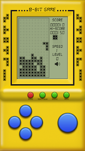 Brick - classic tetris - screenshot